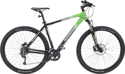 Mountainbike »Gipfelstürmer« 27-Gang, 73,66cm (29-Zoll), schwarz-grün-matt