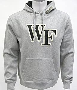 Wake Forest Automatic Hooded Sweatshirt (Grey) by Colosseum