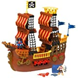 Fisher-Price Imaginext Adventures Pirate Ship ~ Fisher-Price