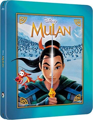 Mulan Limited Issue Dvd Mulan Blu-ray Steelbook Zavvi