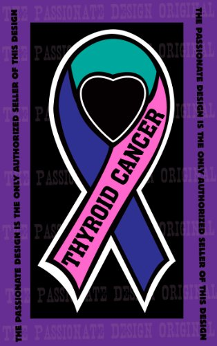 Thyroid Cancer Ribbon Thyroid Cancer