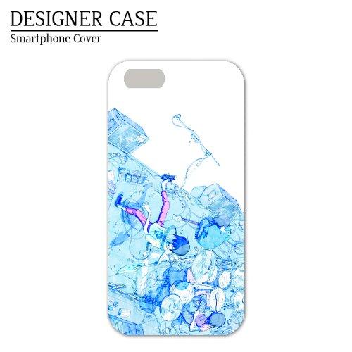 iPhone6S/6ソフトケース『バンド』人気イラストレーター・川野 スマホケースカバー◇4.7インチ