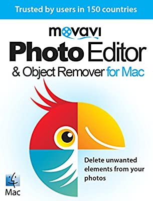 Movavi Photo Editor & Object Remover for Mac 3 Business [Download]