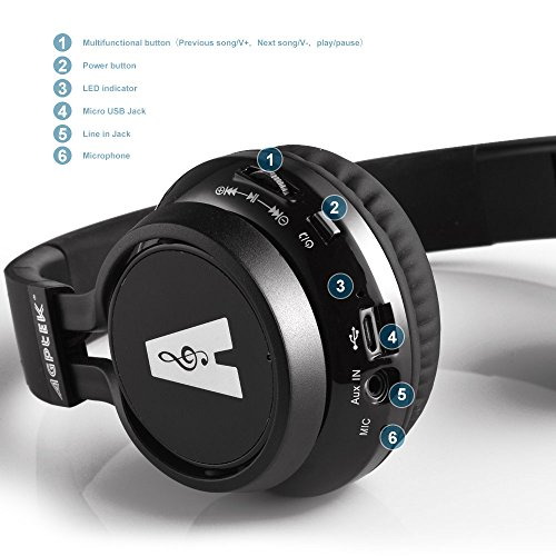 AGPtek HA0079 Bluetooth Headset