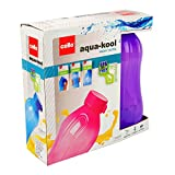 Cello Aqua Kool Plastic Bottle Set, 1 Litre, Set Of 3, Violet