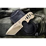 Tops Knives FDX 66 Fixed Blade Knife,2.75in,1095 High Carbon,Skeleton Handle FDX-66
