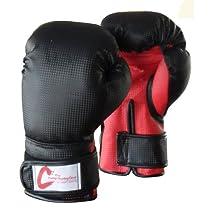 Amber Sporting Goods Kids Boxing Bag Gloves, Black, 4-Ounce