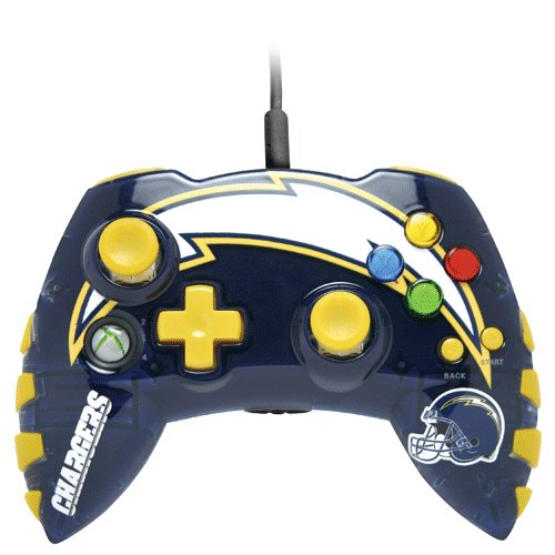 Xbox 360 Nfl San Diego Chargers Controller 2008 08 12 36 14