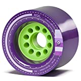 ORANGATANG KEGEL Longboard Wheels 80mm 83a PURPLE Set of 4 WITH TGM STICKERS