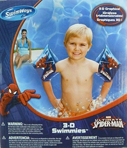 Marvel Ultimate Spider-Man 3-D Swimmies Arm Floats by SwimWays