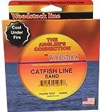 Woodstock Catfish Braided Nylon Fishing Line, 100 Yards, 50# Test, Sand