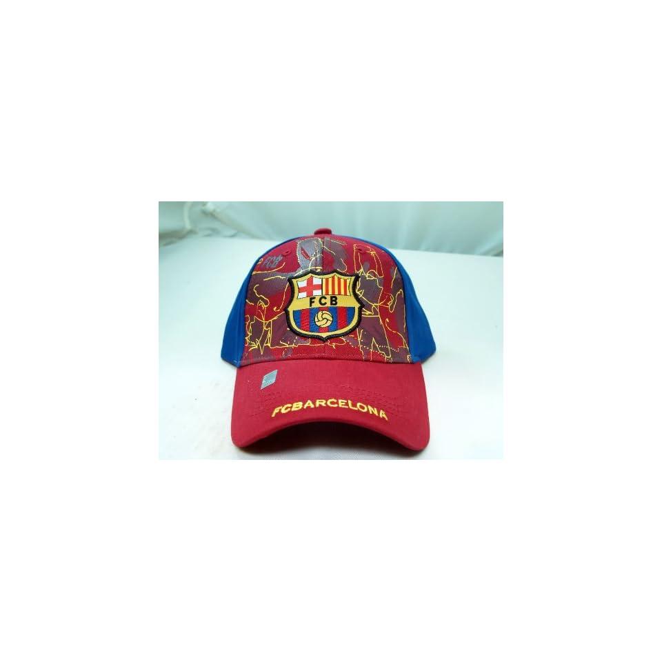 FC BARCELONA OFFICIAL TEAM LOGO CAP / HAT   FCB004