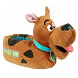 Disney 0SDF210 Scooby Doo Slipper (Toddler/Little kid),Brown/Black,Medium (7-8 M US Toddler)