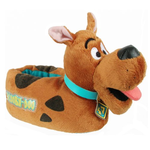 Disney 0Sdf210 Scooby Doo Slipper (Toddler/Little Kid),Brown/Black,Small (5-6 M Us Toddler) front-150498