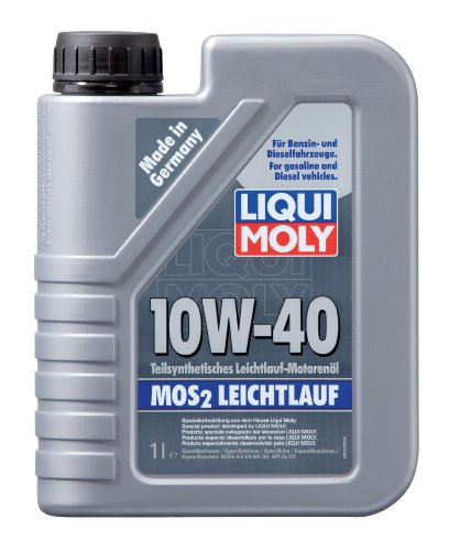 Motoröl Liqui Moly Mos2 Leichtlauf 10W-40, 1l