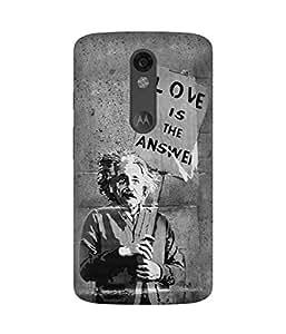 Love is The Answer Motorola Moto X Force Case