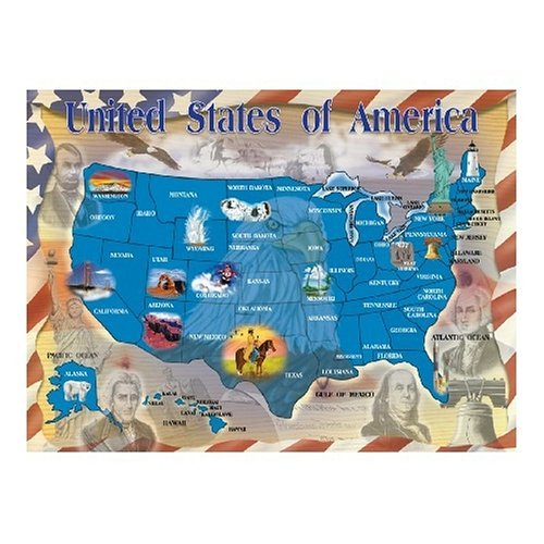 Map-of-the-United-States-500-Piece-Cardboard-Jigsaw-Puzzle-FREE-Melissa-Doug-Scratch-Art-Mini-Pad-Bundle-31745