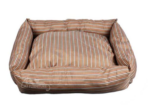 Contemporary Striped Pet Bed (Stain Resistant)