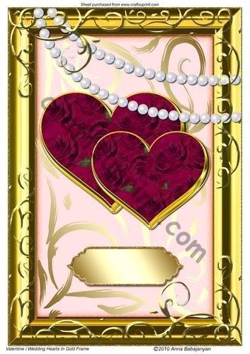 valentine-mariage-motif-coeurs-par-anna-babajanyan-cadre-dore