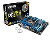 Asus P8Z77-V Motherboard (Socket 1155, 32GB DDR3 Support, ATX, PCI-Express 3.0, USB 3.0, Asus Wi-Fi Go Remote, SLI/CrossFireX Support, Dual Intelligent Processors 3)