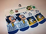 DISNEY BABY SET OF 2 MICKEY MOUSE AND PLUTO BABY SOCKS 6 12 MONTHS