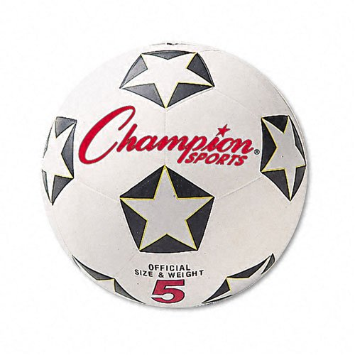 Champion Sports Products - Champion Sports - Soccer Ball, Rubber/Nylon, 6