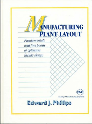 Manufacturing Plant Layout: Fundamentals and Fine Points of Optimum Facility Design
