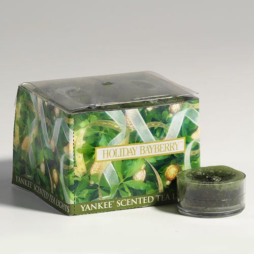 Holiday Bayberry - Box Of 12 Scented Tea Lights Yankee Candle