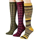 Tipi Toe Women's Knee High Socks (3 Pack)