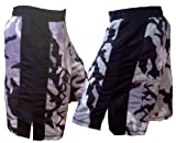 Mixed Martial Arts Grey Camouflage Tribal Fight Shorts Size 34