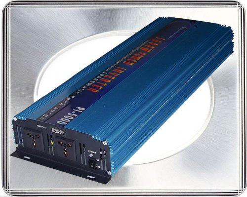 5000 Watt Continual 10000 Watt Surge Modified Sine Wave Power Inverter Converter Transformer 12 V Dc Input / 220 V-240 V Ac Output 60 Hz Frequency Power Tools front-270967