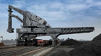 Amazon.com: Walthers Cornerstone HO Scale Hulett Unloader Ashland Iron