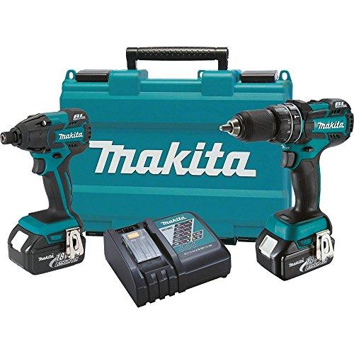 Makita XT248 18V Brushless Combo Kit, 2-Piece