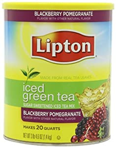 Amazon Com Lipton Iced Green Tea Sugar Sweetened Iced