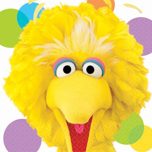Amscan Big Bird Lunch Napkins