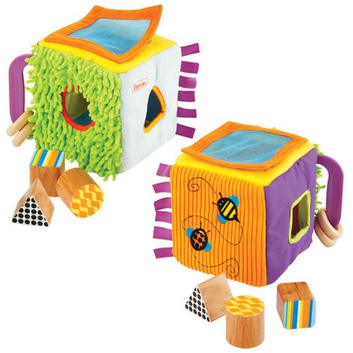 Manhattan Toy Sort-A-Shape Fun Cube front-819286