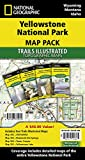 Yellowstone National Park [Map Pack Bundle] (National Geographic Trails Illustrated Map)
