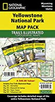 National Geographic Yellowstone National Park Map Pack Bundle: Trails Illustrated National Parks