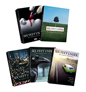 Six Feet Under: Complete Seasons 1-5 [DVD] [2002] [Region 1] [US Import] [NTSC]
