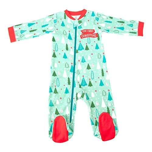 hallmark-baby-festive-holiday-sleepytime-one-piece-0-3-months-mint-green-trees