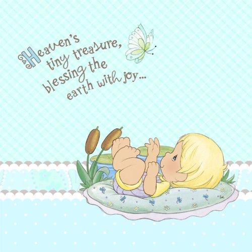 Hallmark 221419 Precious Moments Baby Boy Lunch Napkins front-711324