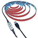 Autai RGB USB Strip Light for TV Back Light IP65 Waterproof With Mini Online Controller (2-meter / 3keys online controller)