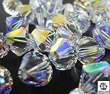Comprar SWAROVSKI ELEMENTS Biconos 5328, 50 cuentas de cristal AB de 4 mm