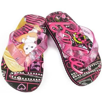 Amazon.com: Mattel Barbie BBS100 Flip Flop (Toddler/Little Kid): Shoes