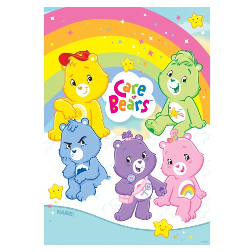 Care Bears Happy Day Loot Bags- 8ct