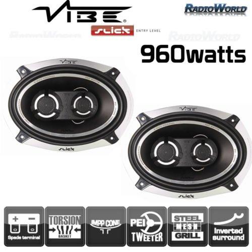 Vibe-Audio-Slick-Matrix-693-1524-x-2286-cm-3-Wege-480-W-und-V4-Koaxial-Lautsprecher-Set-fr-Auto-Hutablage