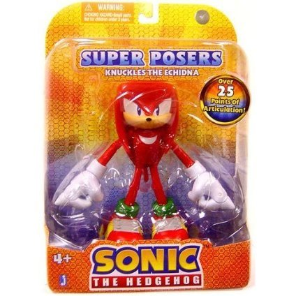 Picture of Jazwares Knuckles the Echidna: Super Posers Sonic The Hedgehog 7