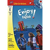 Enjoy English ! : Cahier de r�vision Anglais 6e � la 5e (1CD audio)par Odile Martin-Cocher