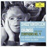ショスタコーヴィチ:オランゴ プロローグ、交響曲第4番
