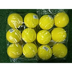 Buy Champro Lacrosse Ball Yellow 12 Pack by Champro